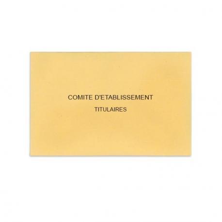 Comité d'Etablissement Beige