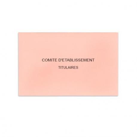Comité d'Etablissement Rose Clair