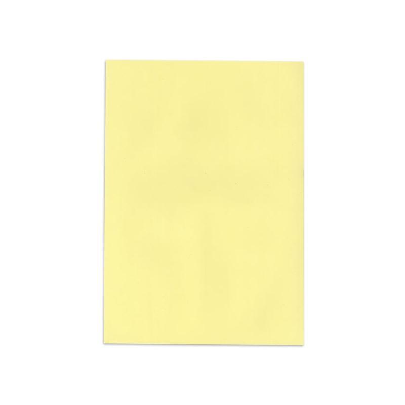 feuilles de papier 100 recycl de couleur jaune clair et assorti aux enveloppes. Black Bedroom Furniture Sets. Home Design Ideas