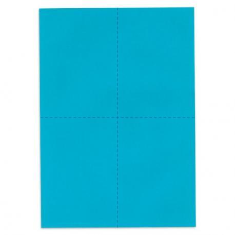 Bulletins de vote - Bleu vif