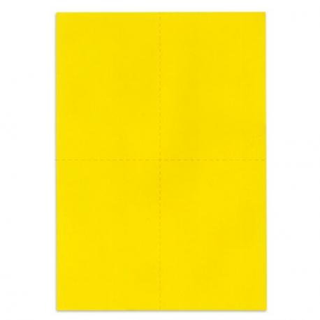 bulletins de vote de couleur jaune vif pr d coup s en papier 100 recycl 80 g format a4. Black Bedroom Furniture Sets. Home Design Ideas