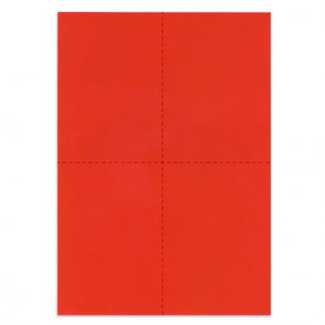 Bulletins de vote - Rouge