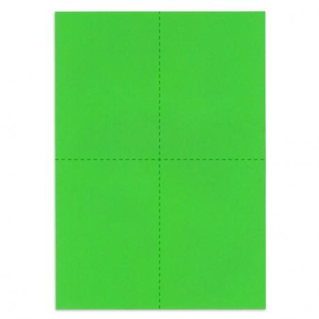 Bulletins de vote - Vert vif