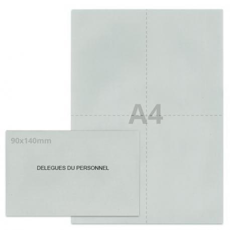 Kit élection délégués du personnel gris