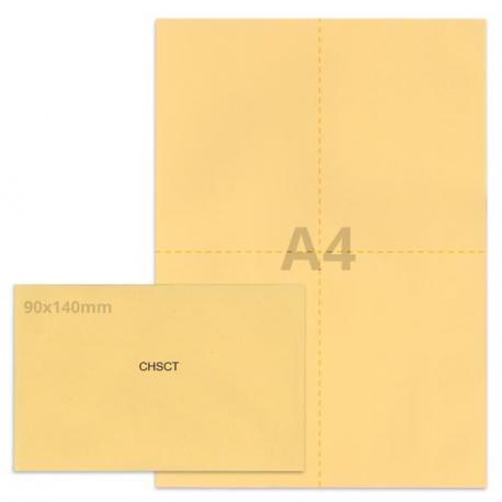 Kit élection chsct beige