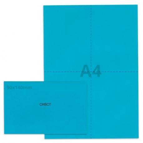 Kit élection chsct bleu vif