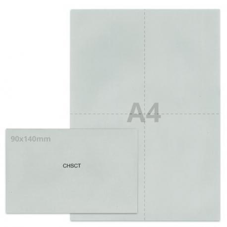 Kit élection chsct gris