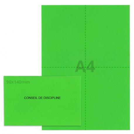 Kit élection conseil de discipline vert vif