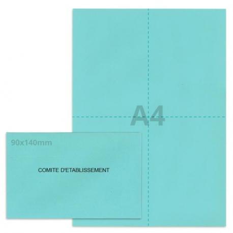Kit élection comité d'établissement bleu clair