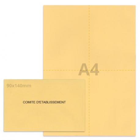 Kit élection comité d'établissement beige
