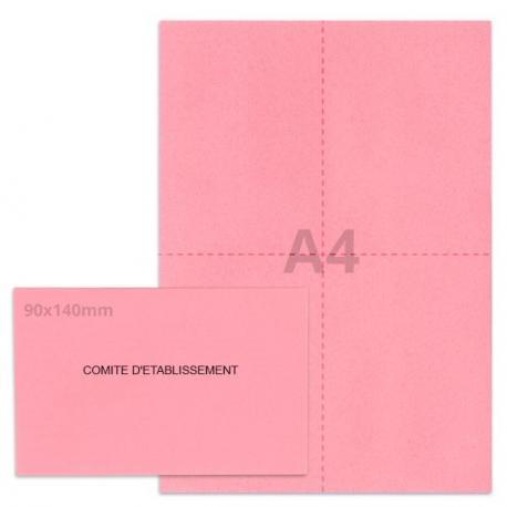 Kit élection comité d'établissement rose vif