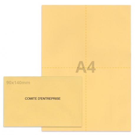 Kit élection comité d'entreprise beige