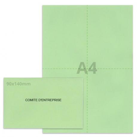 Kit élection comité d'entreprise vert clair