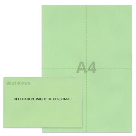 Kit élection DUP vert clair