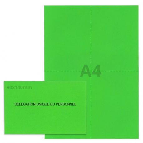 Kit élection DUP vert vif