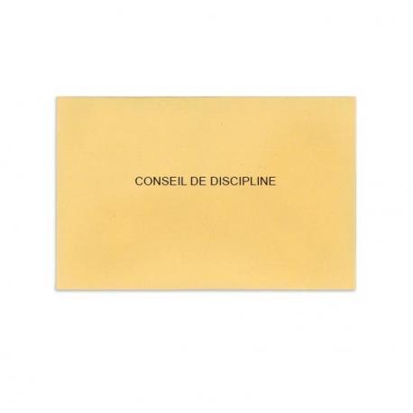 Conseil de discipline beige