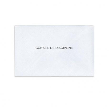 Conseil de discipline blanc