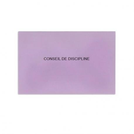 Conseil de discipline lilas
