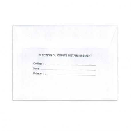 Enveloppes d'identification standard