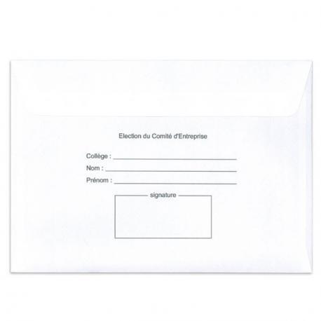 Enveloppes d'émargement - E3S