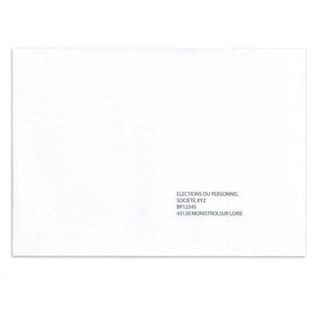 Enveloppes de retour 162 x 229 - RN5