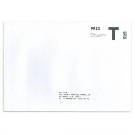 Enveloppe De Retour Lettre T 162x229 C5
