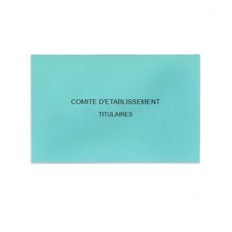 Comité d'Etablissement Bleu Clair