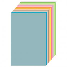 Feuilles de papier couleur