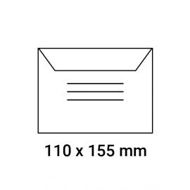 Enveloppes d'identification pré-imprimées 110x155
