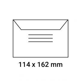 Enveloppes d'identification pré-imprimées 114x162
