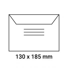 Enveloppes d'identification pré-imprimés 130x185