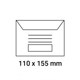 Enveloppes d'émargement pré-imprimées 110x155