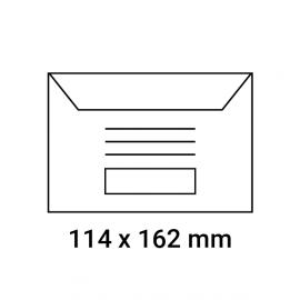 Enveloppes d'émargement pré-imprimés 114x162