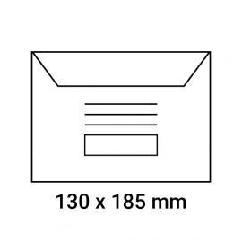 Enveloppes d'émargement pré-imprimés 130x185