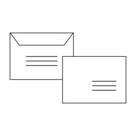 Enveloppes retour + identification