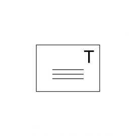 Enveloppes de retour Lettres T